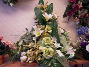 Fleur pour deuil, Pompes Funèbres Girot à Romilly sur seine Aube, Conflans sur seine Marne