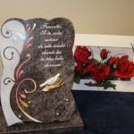 plaque pour funéraille