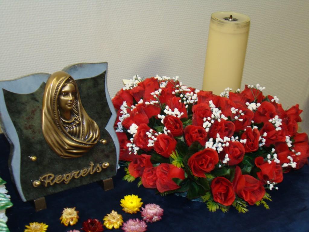 Favori Fleurs funéraires - Pompes funèbres Girot - Aube - Marne OQ88
