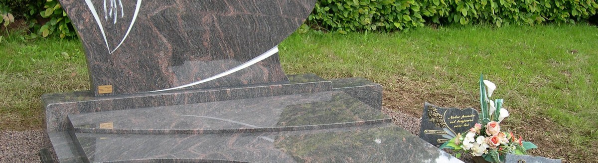 Monument et pierre tombale, pompes funèbres Girot Aube