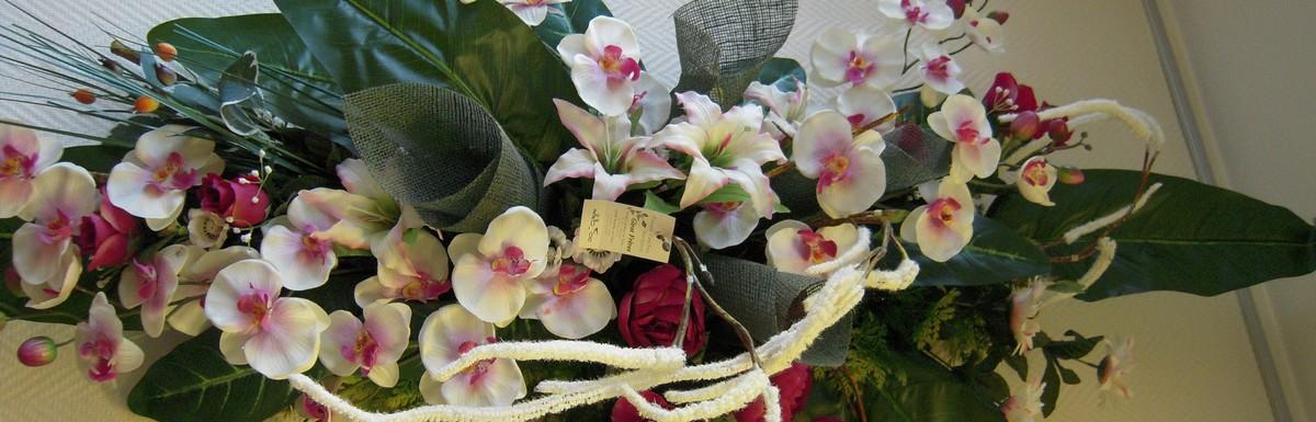 Fleurs artificielles pour obsèques, Girot à Romilly sur Seine et Conflans sur Seine