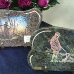 Plaques funéraires, pompes funèbres Girot à conflans sur Seine dans la Marne, 51