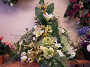Fleurs funéraires, pompes funèbres Girot, Romilly sur Seine, Aube